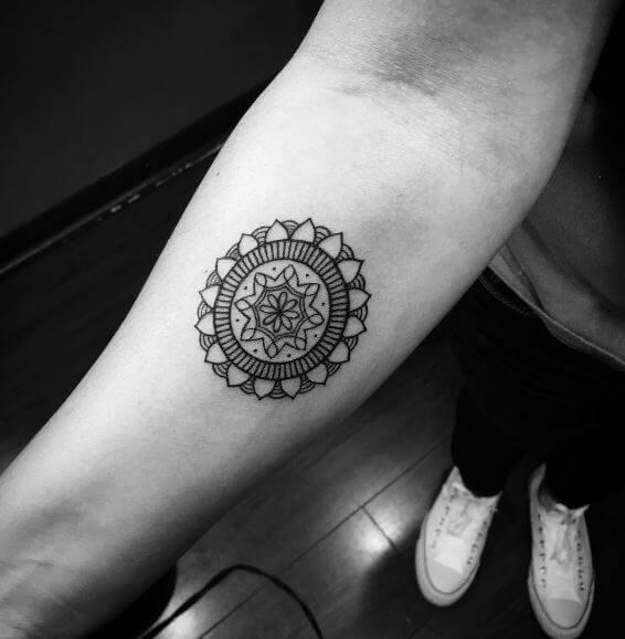 Simple Mandala Tattoos