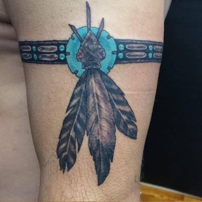 Native American Armband Tattoo