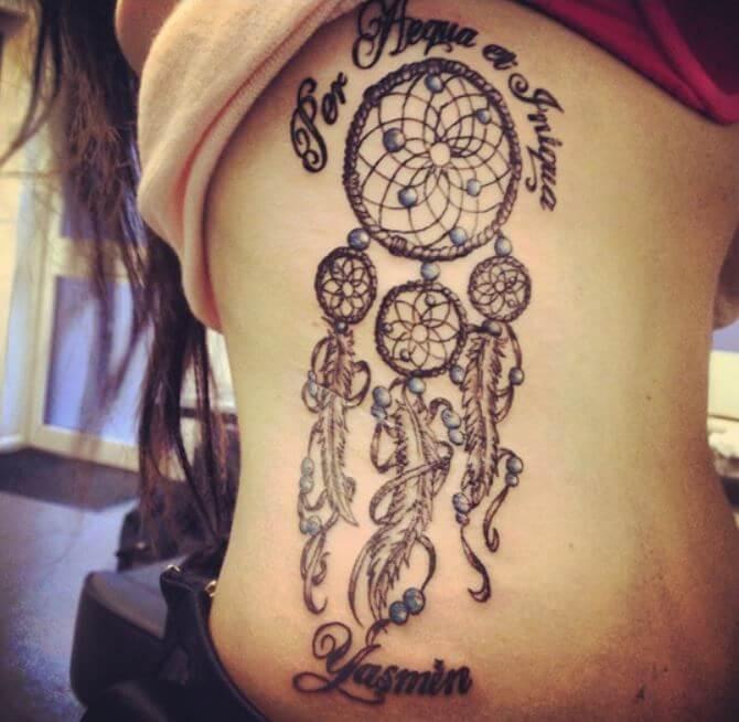 Native American Dreamcatcher Tattoo