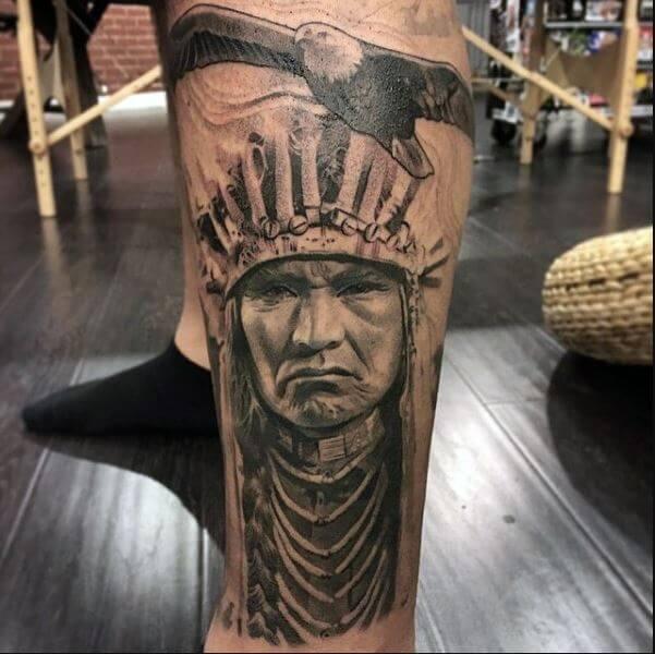 Native American Indian Tattoos
