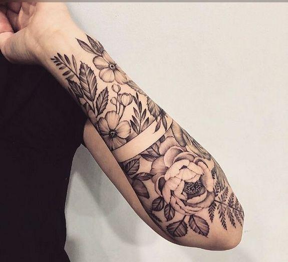 Oberarm tattoo frau am Tattoo Ideen