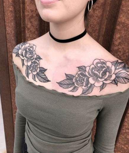 Für hals frauen tattoos Tattos &