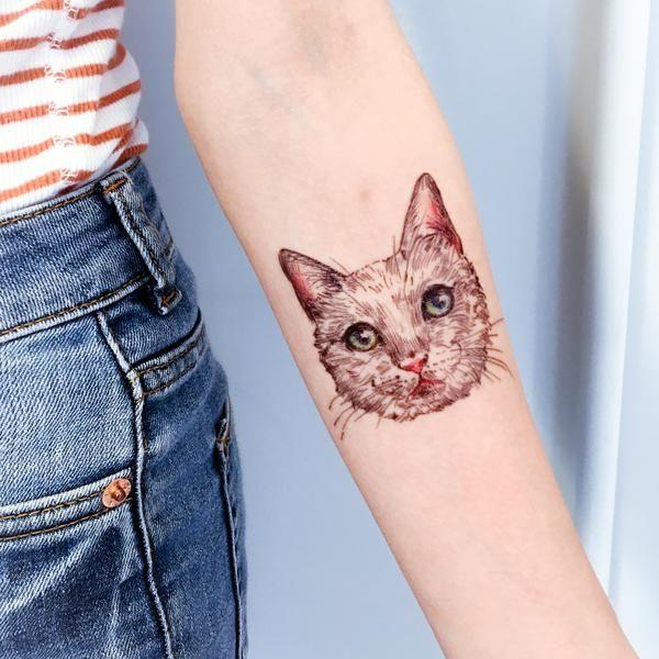 Small Simple Bull Tattoo Designs (123)