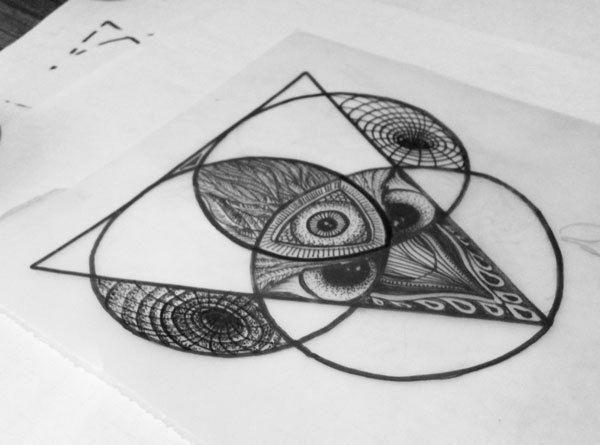 Small Simple Bull Tattoo Designs (126)