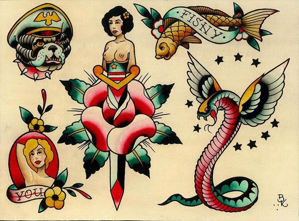 Small Simple Bull Tattoo Designs (15)