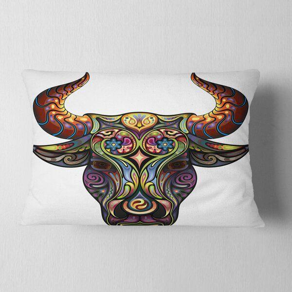 Small Simple Bull Tattoo Designs (159)