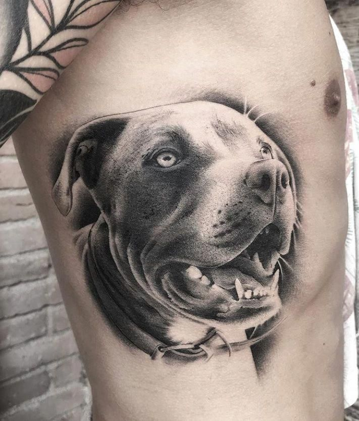 Small Simple Bull Tattoo Designs (170)
