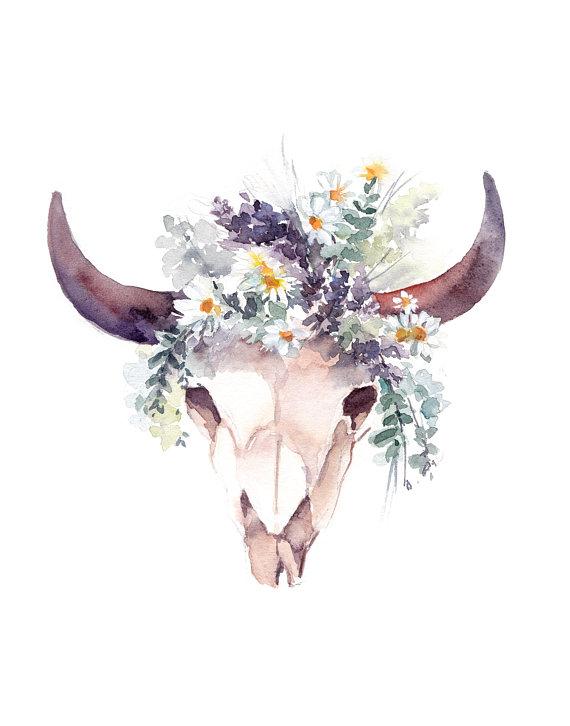 Small Simple Bull Tattoo Designs (79)