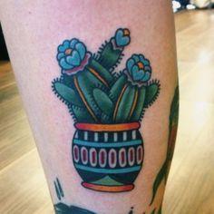 Small Simple Cactus Tattoo Designs (12)