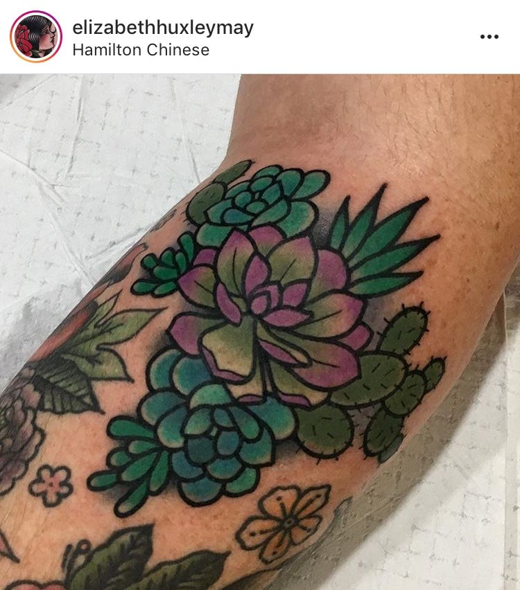 Small Simple Cactus Tattoo Designs (212)