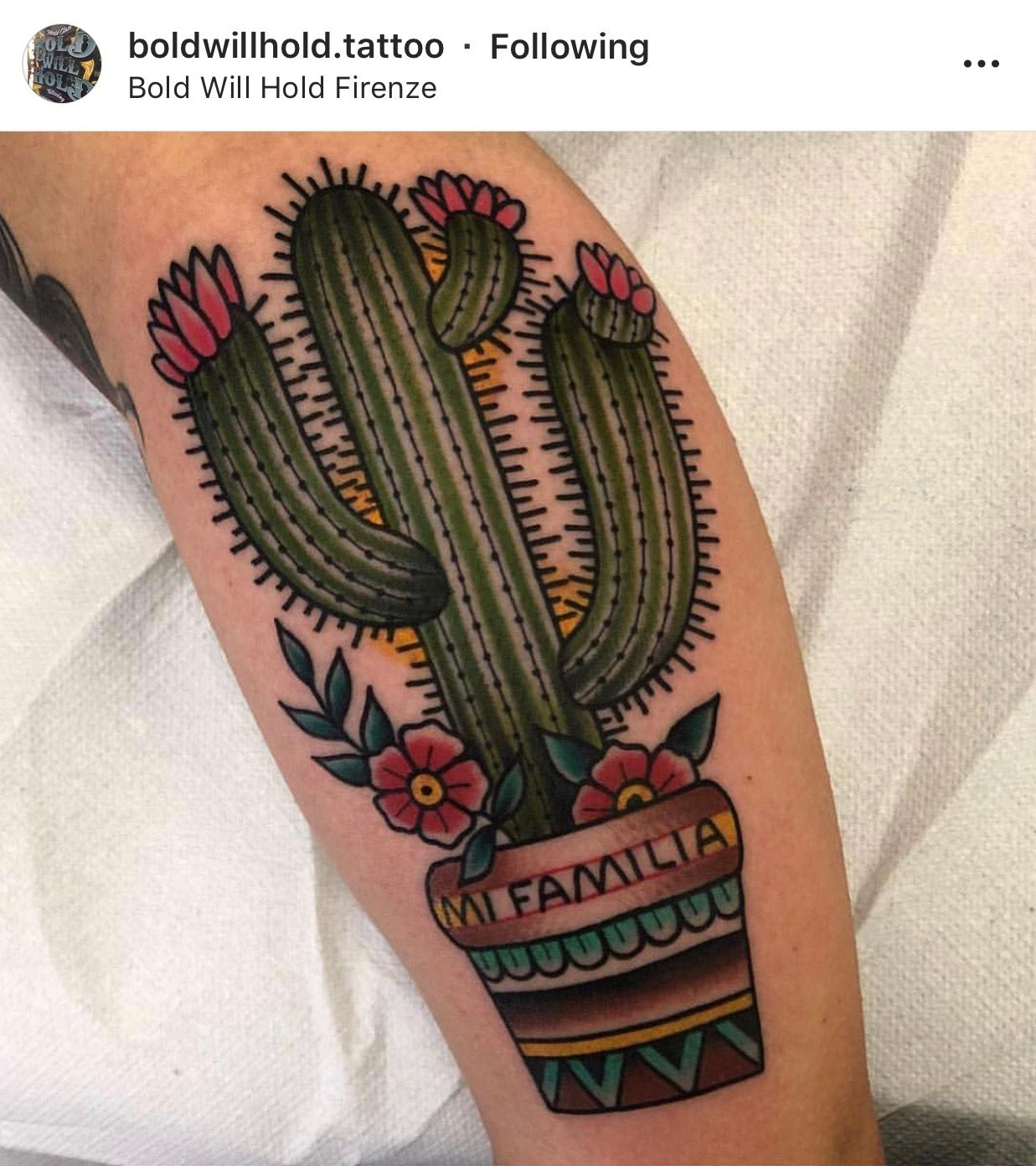 Small Simple Cactus Tattoo Designs (213)