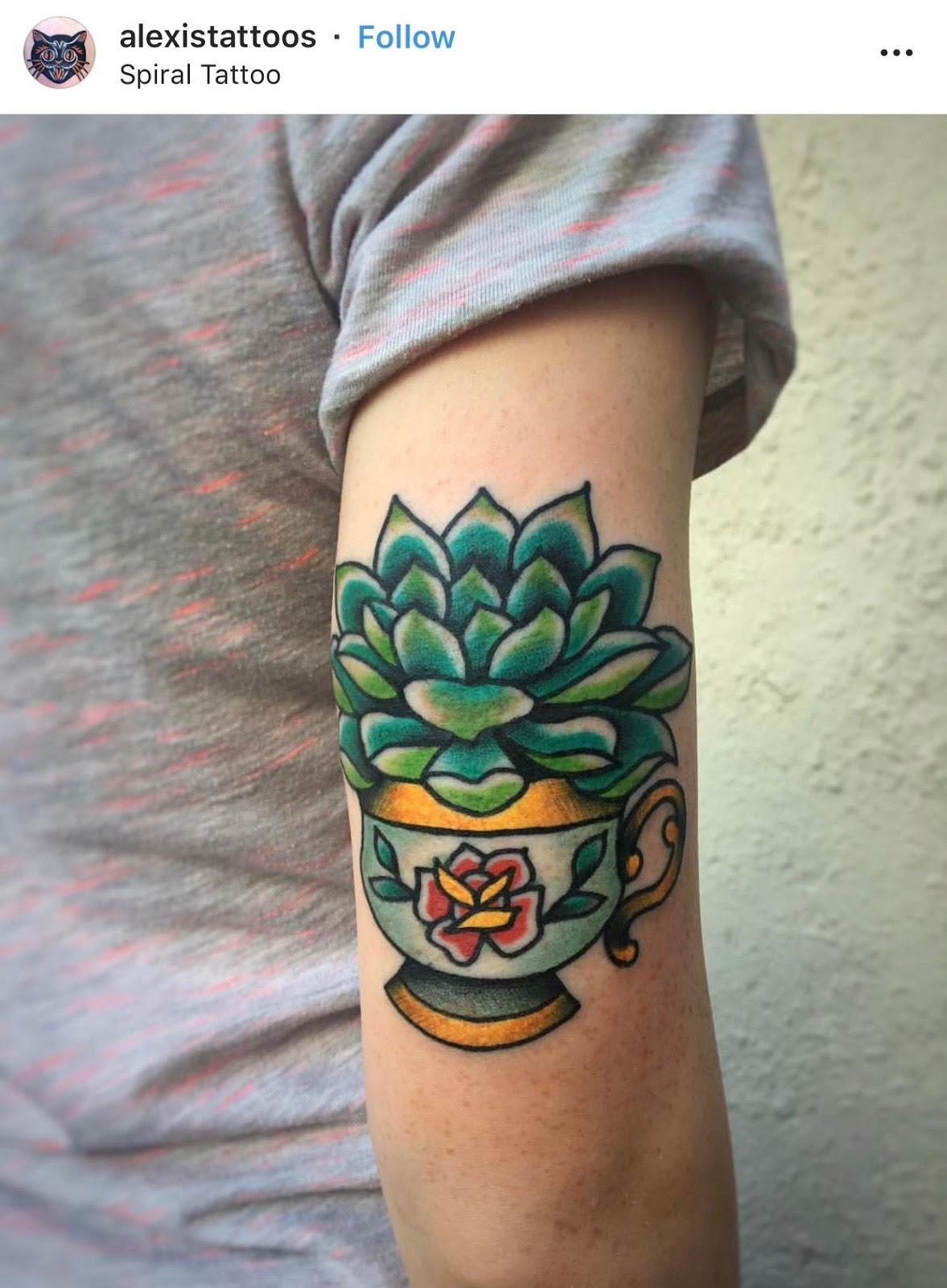 Small Simple Cactus Tattoo Designs (25)