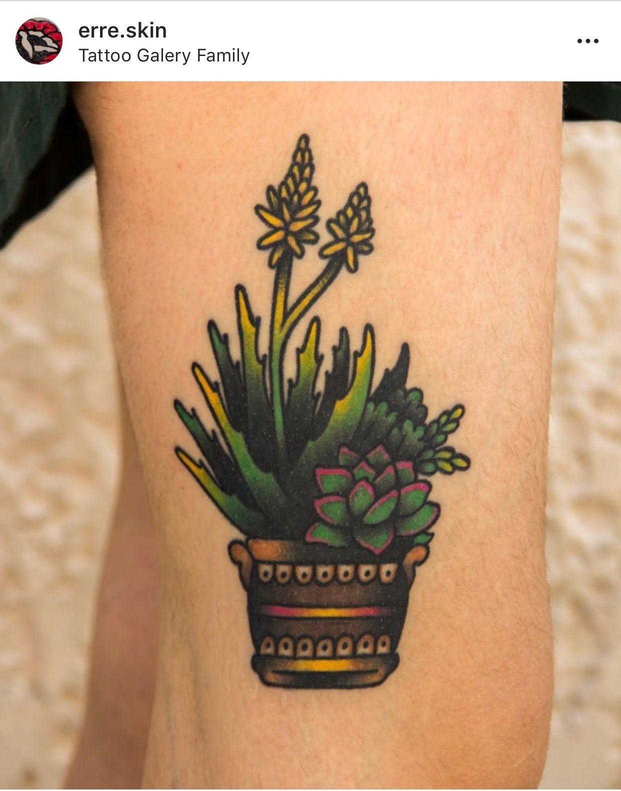 Small Simple Cactus Tattoo Designs (27)