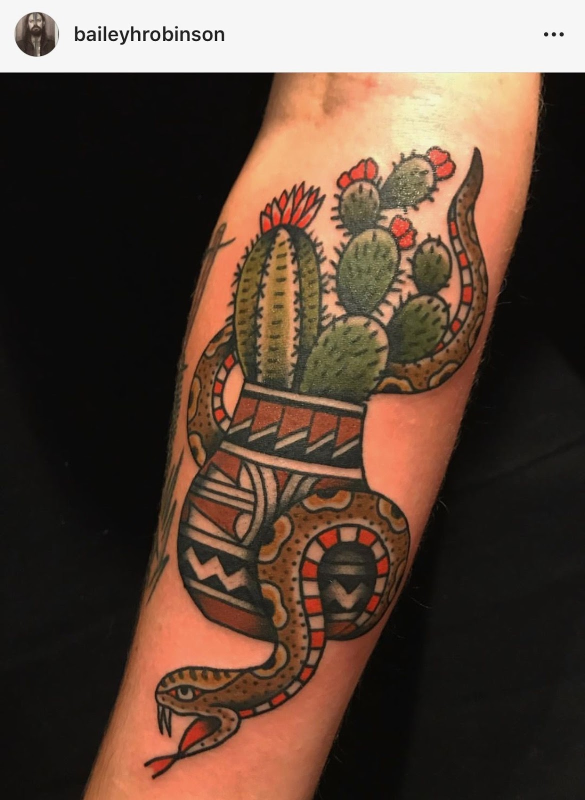 Small Simple Cactus Tattoo Designs (79)