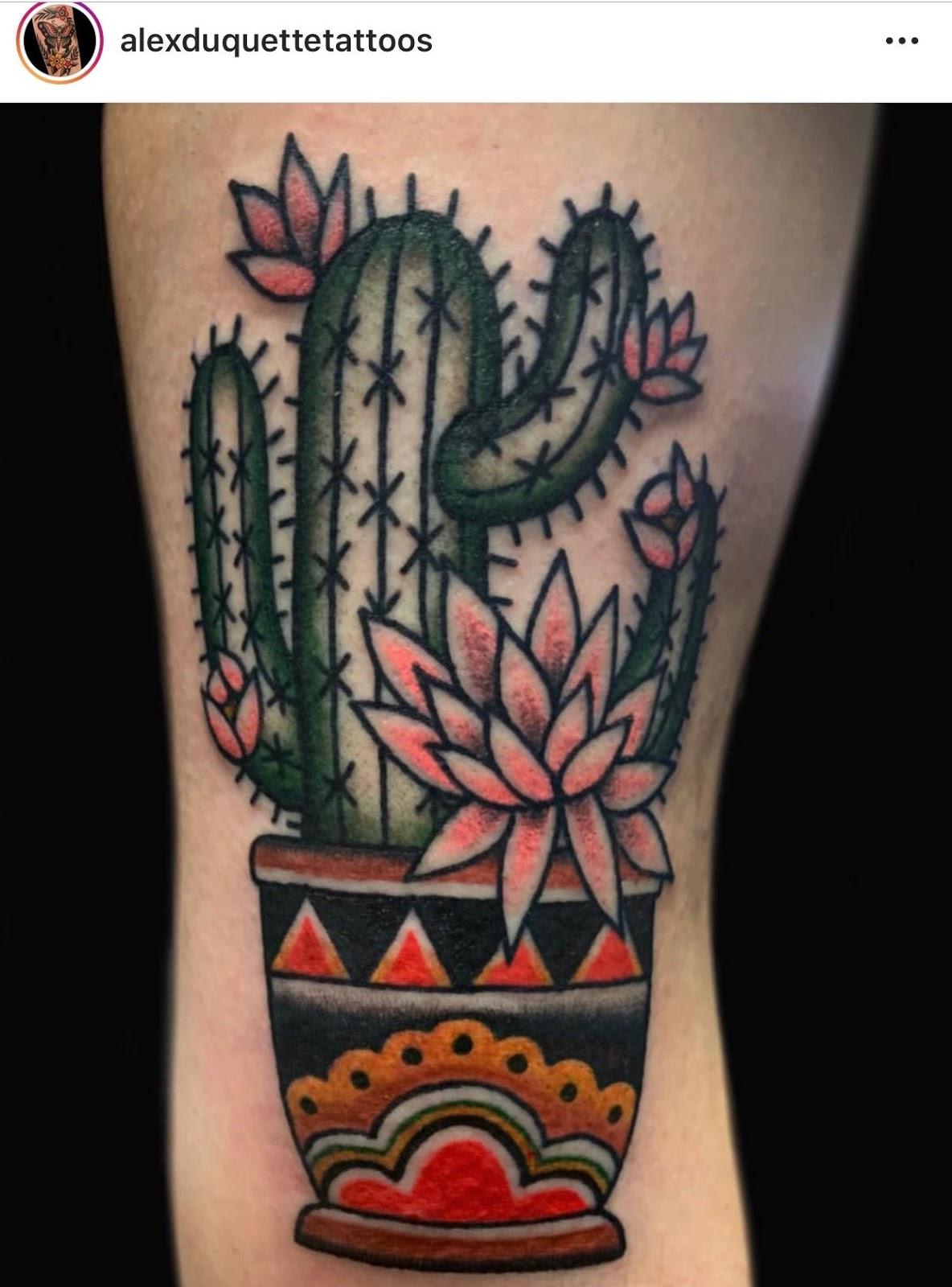 Small Simple Cactus Tattoo Designs (89)