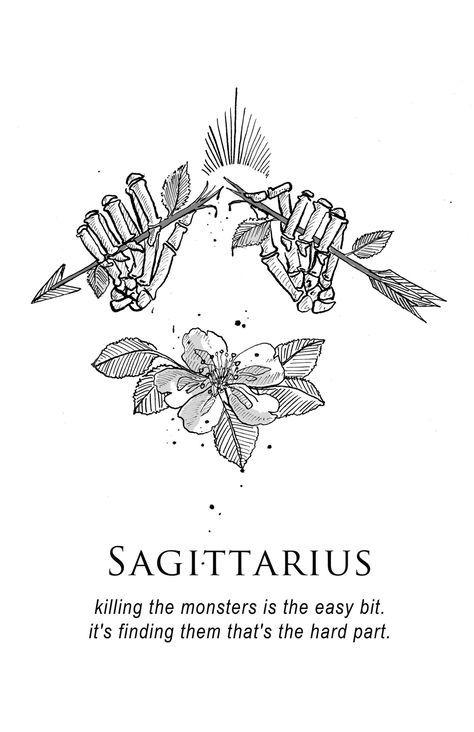 Sagittarius Horoscope Zodiac Sign Symbol (152)