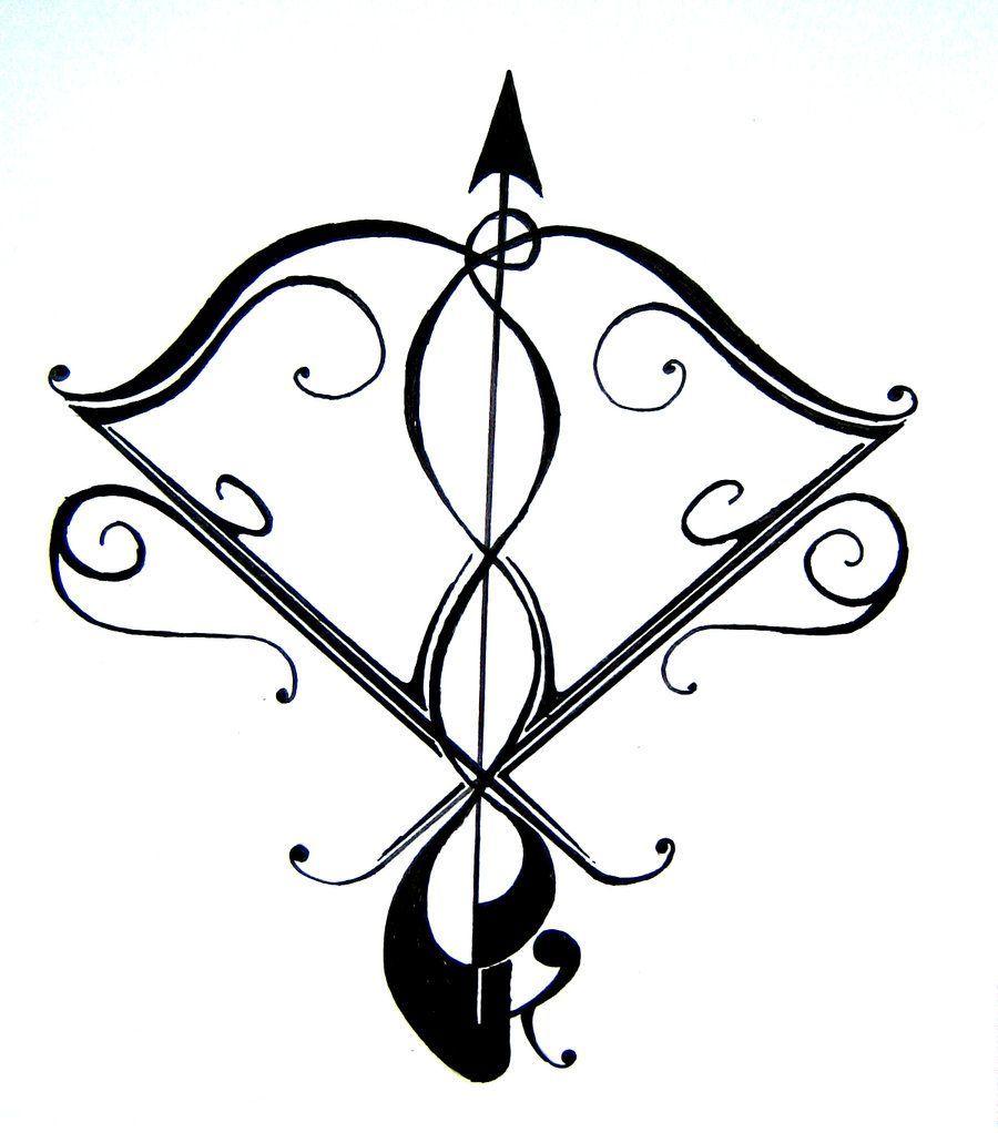 Sagittarius Horoscope Zodiac Sign Symbol (182)