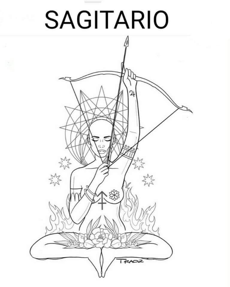 Sagittarius Horoscope Zodiac Sign Symbol (25)