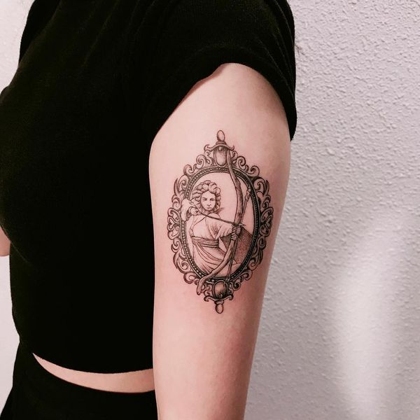 Sagittarius Horoscope Zodiac Sign Symbol (4)