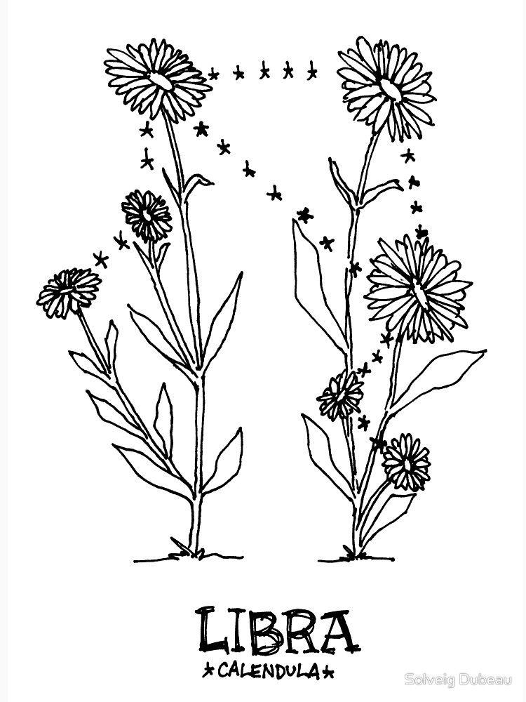 Libra Zodiac Horoscope Sign Symbol Tattoos (111)