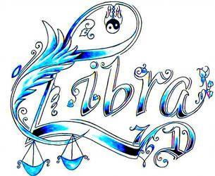 Libra Zodiac Horoscope Sign Symbol Tattoos (128)