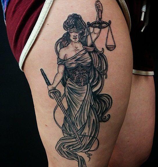 Libra Zodiac Horoscope Sign Symbol Tattoos (139)