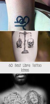 Libra Zodiac Horoscope Sign Symbol Tattoos (148)