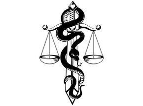 Libra Zodiac Horoscope Sign Symbol Tattoos (163)