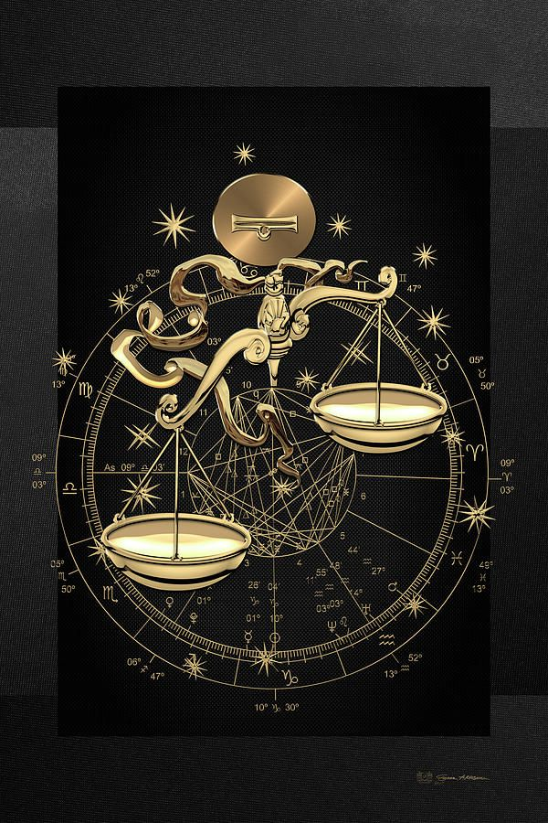 Libra Zodiac Horoscope Sign Symbol Tattoos (17)