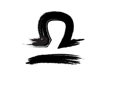 Libra Zodiac Horoscope Sign Symbol Tattoos (176)