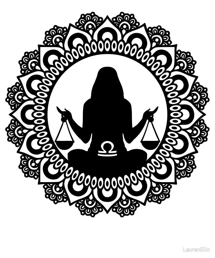 Libra Zodiac Horoscope Sign Symbol Tattoos (186)