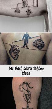 Libra Zodiac Horoscope Sign Symbol Tattoos (29)