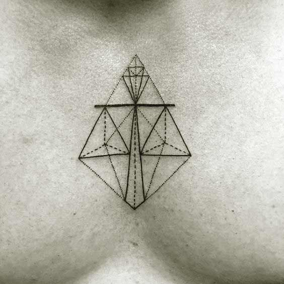 Libra Zodiac Horoscope Sign Symbol Tattoos (45)