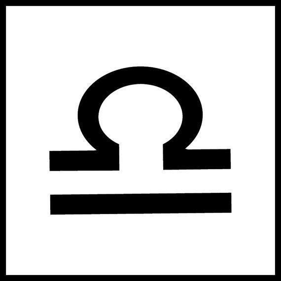 Libra Zodiac Horoscope Sign Symbol Tattoos (47)