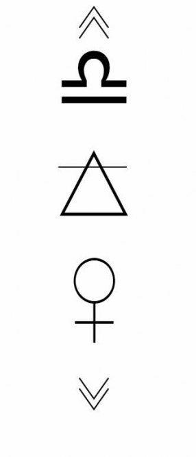Libra Zodiac Horoscope Sign Symbol Tattoos (57)