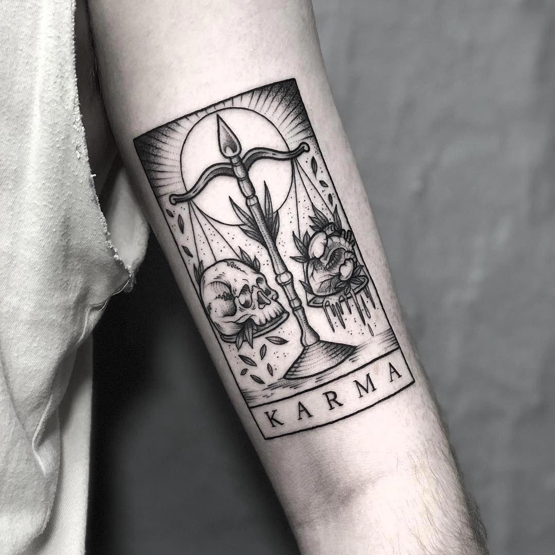 Libra Zodiac Horoscope Sign Symbol Tattoos (61)