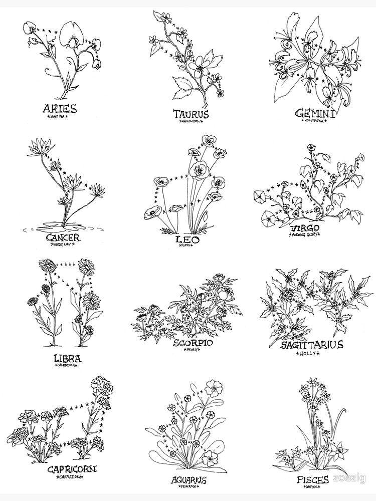 Libra Zodiac Horoscope Sign Symbol Tattoos (85)