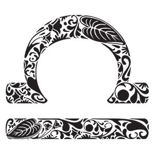 Libra Zodiac Horoscope Sign Symbol Tattoos (97)