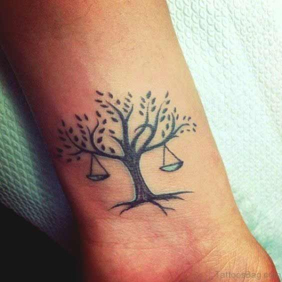 libra zodiac horoscope sign symbol tattoos