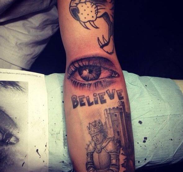 Justin Bieber Tattoos