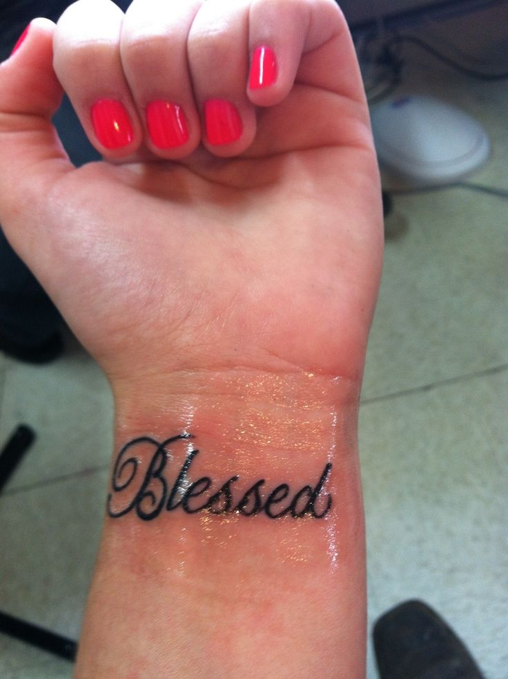Small Simple Blessing Tattoo Designs (16)