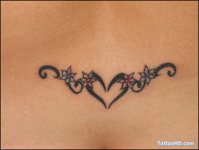 Small Simple Blessing Tattoo Designs (166)