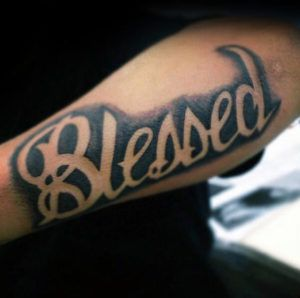 Small Simple Blessing Tattoo Designs (76)