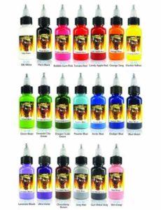 Scream Tattoo Ink 20 Pack Set By WorldWide Tattoo Supply