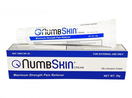 New Numbskin Numbing Cream 5% Lidocaine Topical Anesthetic