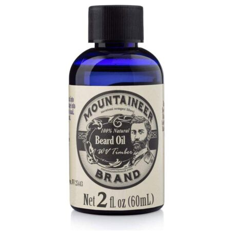 Beard Oil By Mountaineer Brand, WV Timber, Scented With Cedarwood And Fir Needle