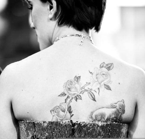 Lamb Scarlett Johannson Tattoos