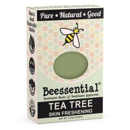 Beessential Tea Tree Skin Freshening Bar Soap, 5 Ounce