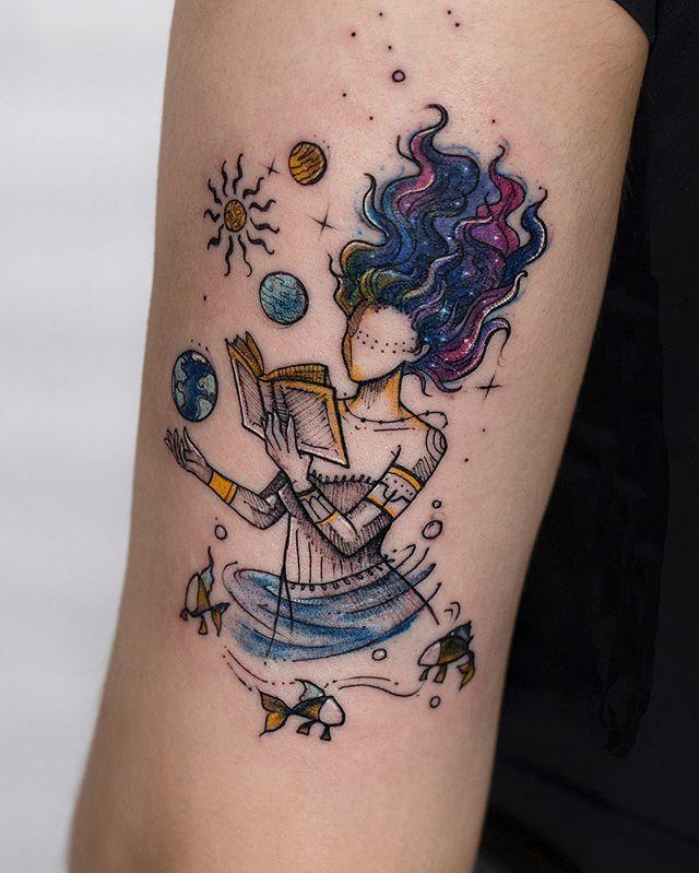 Earth Tattoo Ideas 3