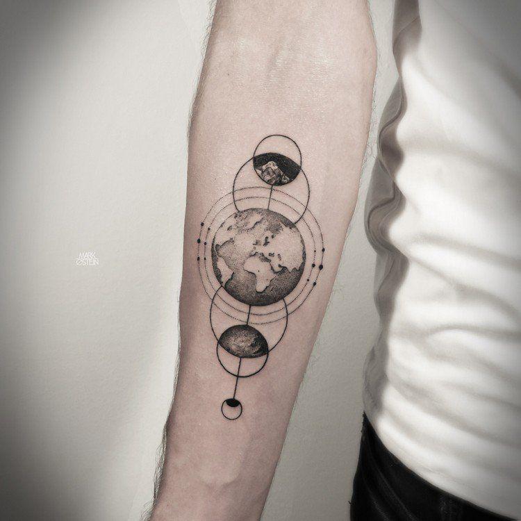 Earth Tattoo Designs 5